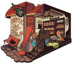 Pixel Vignette: First Meeting by hitogata