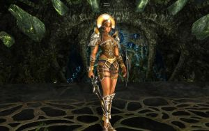 Lineage 2 Elmina by Brownfinger