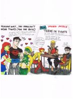 Young Justice Love Affair by AimiisLoveBeautiful
