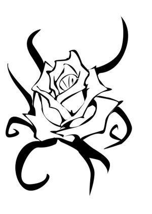 Flower Rose Tattoo Designs Picture 8