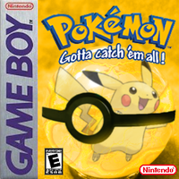 GameBoy Mock: Special Yellow Version by animejunkey54