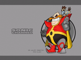 S.C. Julian Robotnik Wallpaper by E-122-Psi