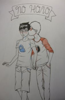 NO HOMO (JohnDave) by AndroidButterfly