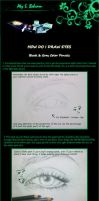 Eye Tutorial - Traditional Gray Colored Pencil by Aty-S-Behsam
