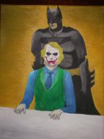The Dark Knight Interrogation by AndyDaRoo