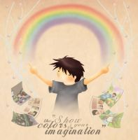 imagination by noodlekiddo