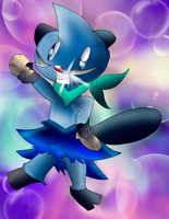 Torpedo the Dewott by Blackbirdo29