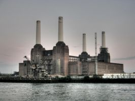 Battersea Powerstation by eightseven