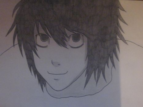 L Lawliet by neguu