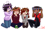 The Adventures Group by polarbear1234