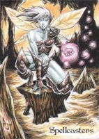 Spellcasters Sketch Card - Anthony Tan 3 by Pernastudios