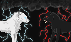 Good and Evil by Wolf-Shadowrunner