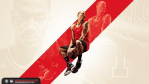 Derrick Rose wallpaper by michaelherradura