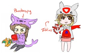 Phoebespy and Zlatias Collab by X-CoyoteFeathers-X