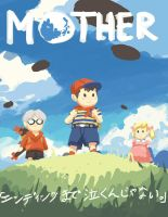 MOTHER 20th anniversary sketch by Kyomu