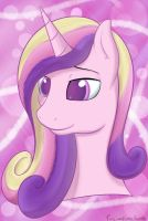 Cadences pretty floating head by FusionPony