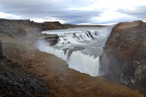 Gullfoss waterfall 2 by pvf