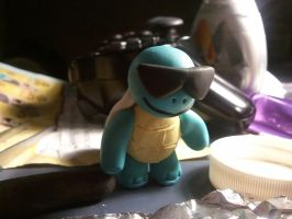 Squirtle Figurine by UntouchedRayne