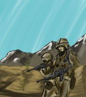speed paint troops by boringcabage