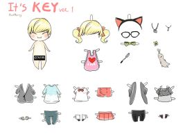 It Key ver1 by KnotBerry