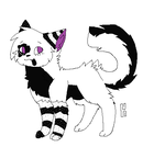 Oreo Cat Adopt Closed by Dreamy-Adopts