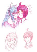 Her lovely couple by TheDarkLordCreator