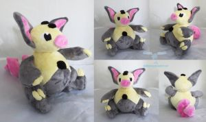 Shiny Grumpig Plush