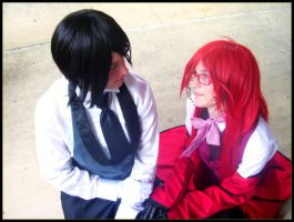 Sebastian and Grell: Love by Cosplayer-Inochi
