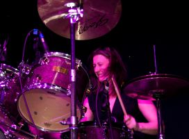 Ann Batty of The After Hours Blues Band II by DundeePhotographics
