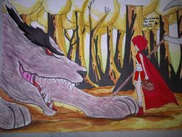 ~Little~ Red Riding Hood (with a Twist) by ArtfulHattress