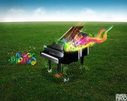 Magic Piano by k-uno