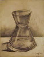 Practice Sketch of Glass by Leonora1