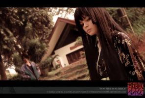JIGOKU SHOUGO: ENMA AND REN by stringedpantomime
