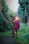 Leona - Overcomes the Darkness by HellDolly