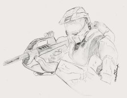 Halo 3:Master Chief by UltraWolf001