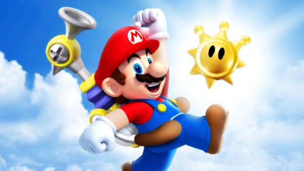 Super Mario Sunshine Wallpaper by Spritanium