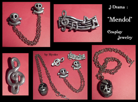 cosplay jewelry : MENDOL by Hyo-pon