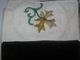 Underside of Embroidery by WillowForrestall