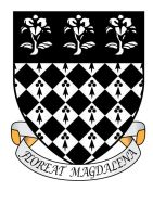 Magdalen College Oxford Coat Of Arms by ChevronTango