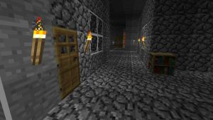 Minecraft Main Base interior by Jhumperdink