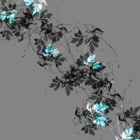 Sweeping Sensation Floral Pattern 02 by DonnaMarie113
