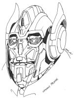 BW Movie Optimus Primal 3 by Gozer-The-Destroyor