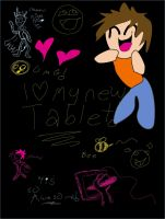 TABLET SCRIBBLIES by candlehat
