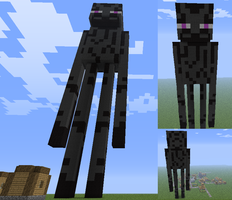 Giant Enderman Model by El-Quivira