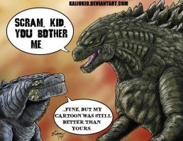 The New Guy, Redux by kaijukid