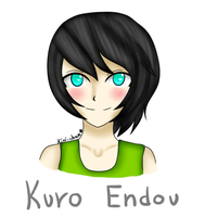 [Adoptable] Kuro Endou. by KiriChan94