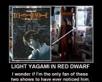 Death Note's Light Yagami in Red Dwarf by DoctorWhoOne