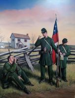"""Clinch Rifles"" by Trexlerhistoricalart"