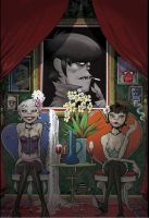 gorillaz.. by over123