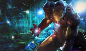 iron man by Rapstyle95